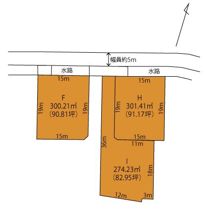 中里町区画図