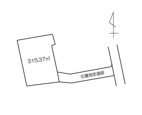 上小鳥町 区画図