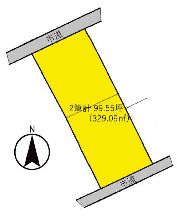 高崎市竜見町 区画図