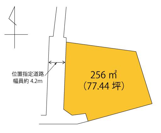 寺尾町区画図