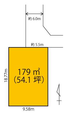 区画図 中泉町 土地